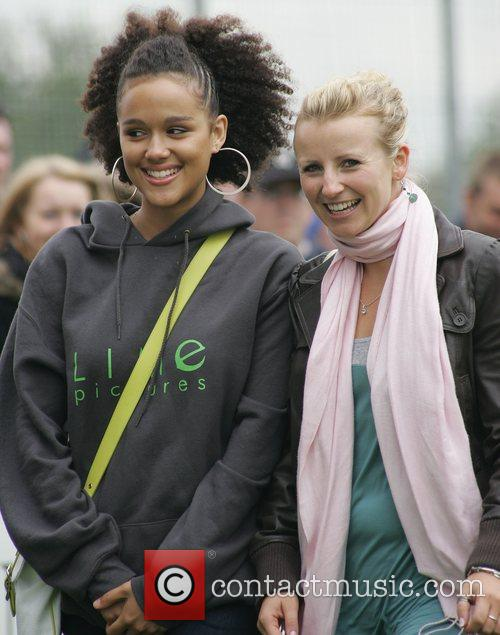 Nathalie Emmanuel and Hollyoaks 1