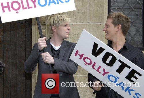 Gerard McCarthy and James Sutton who play Kris...