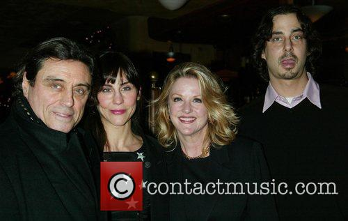 Ian McShane, Gwen McShane & his children Kate...