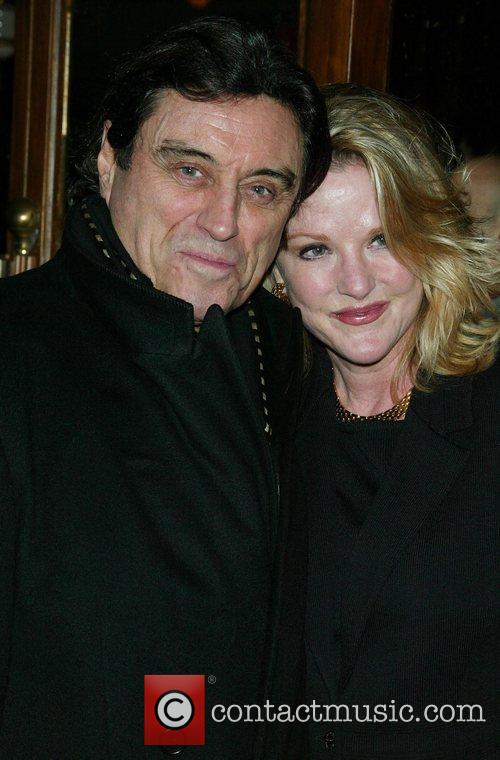 Ian McShane and Gwen McShane  Opening night...
