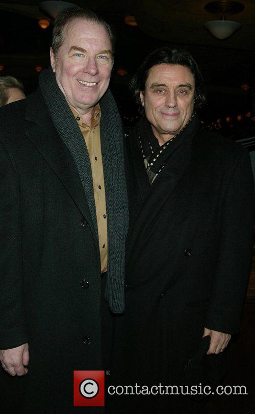 Michael McKean & Ian McShane  Opening night...