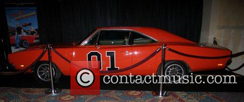 The General Lee car Home Media Expo 2007...