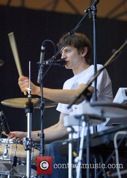 Gotye performing Homebake 2007, Australia's annual outdoor music...