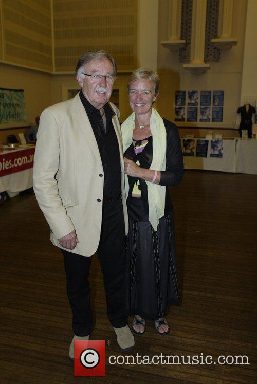 George Negus, His Wife Attend A Screening Of Homebirth Documentary 'the Business Of Being Born' and Due For Release In March 2008