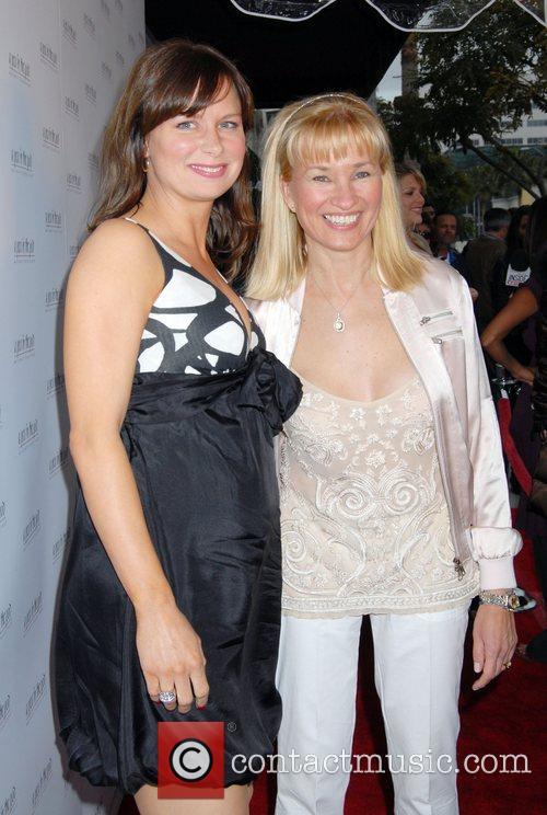 Mary Lynn Rajskub and guest 'Hot Mom's Club'...