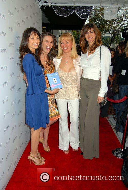 Trista Sutter (2nd L) and guests  'Hot...