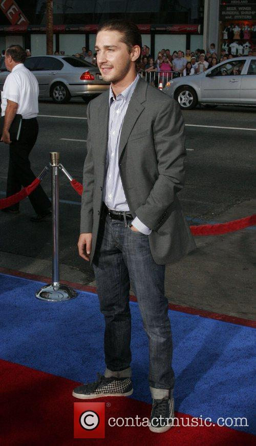 Shia LaBeouf The Los Angelse premiere of 'Hot...