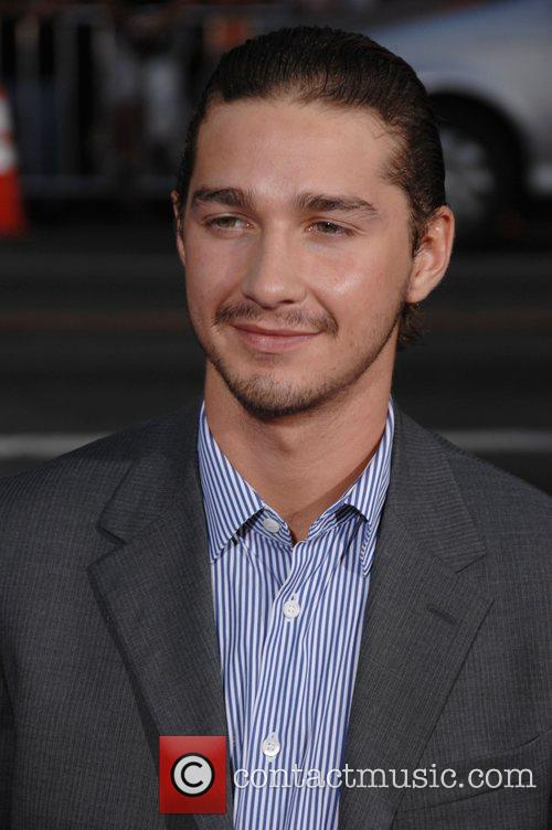 Shia LaBeouf The Los Angeles premiere of 'Hot...