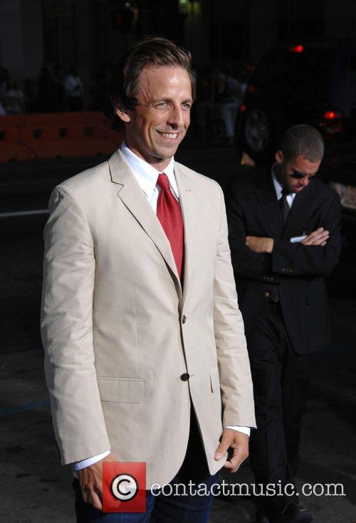 Seth Meyers The Los Angeles premiere of 'Hot...