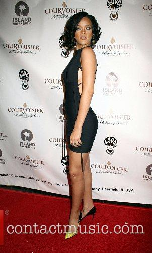 Rihanna House of Courvoisier after party held at...