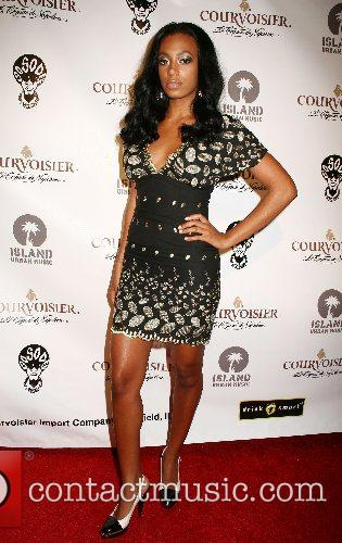 Solange Knowles House of Courvoisier after party held...