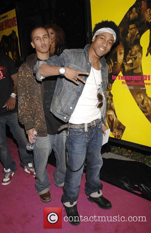Brandon Jackson (right) Los Angeles Premiere of 'How...