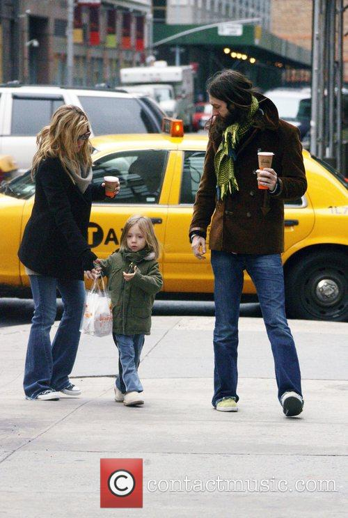 Katie Hudson, son Ryder Russell Robinson and ex-husband...