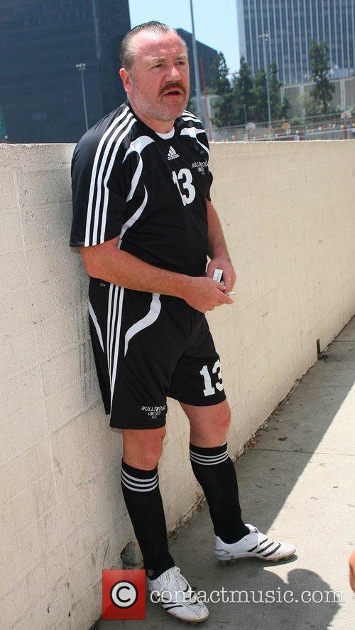Ray Winstone 'Soccer For Survivors' celebrity soccer match...