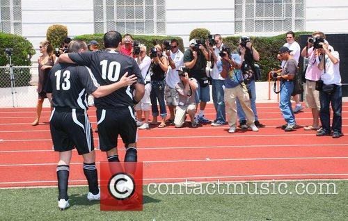 'Soccer For Survivors' celebrity soccer match presented by...