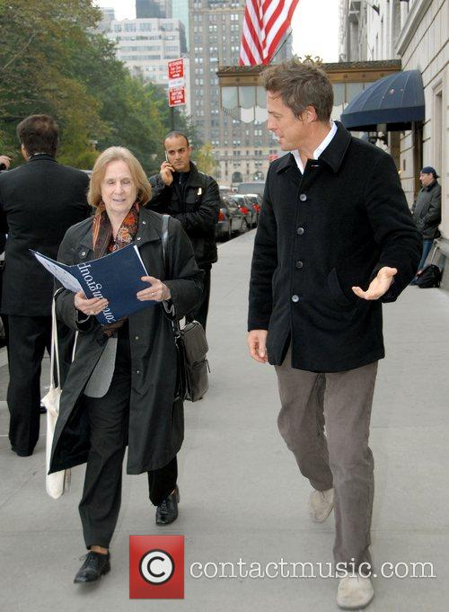 Hugh Grant out and about in Manhattan