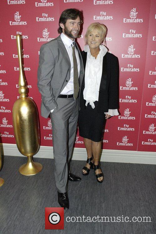 Hugh Jackman and Deborra Lee Furness At The Doncaster Day Racing Carnival At Royal Randwick Racecourse 3