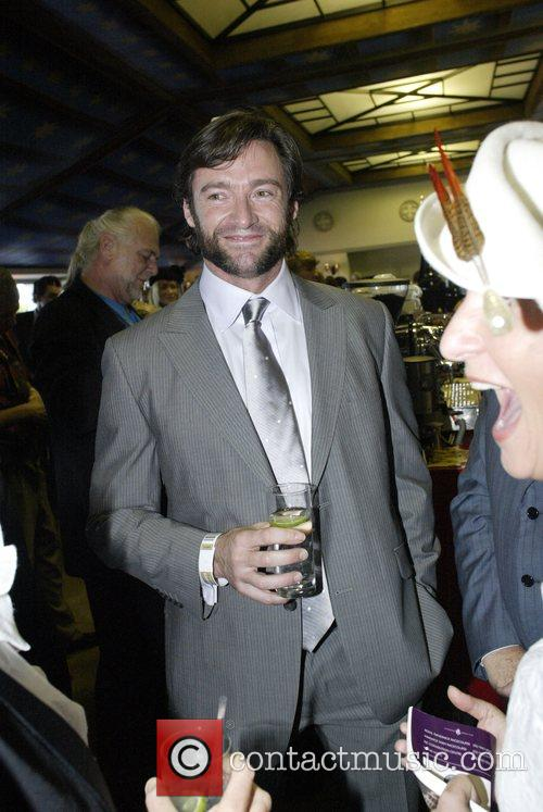 Hugh Jackman and Deborra Lee Furness At The Doncaster Day Racing Carnival At Royal Randwick Racecourse 7
