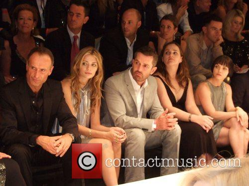 Hugo Boss fashion show at the opening of...