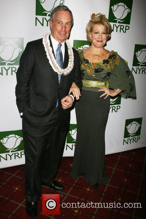 Mayor Michael Bloomberg and Bette Midler 3