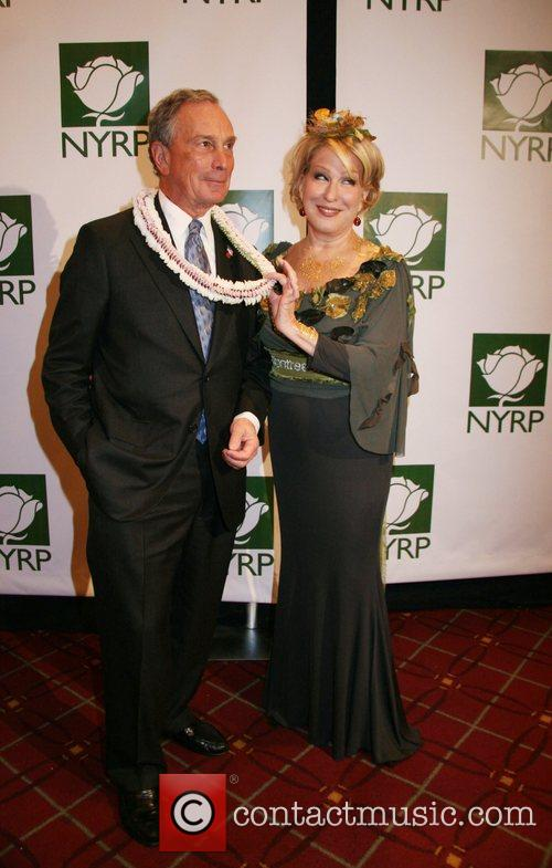 Mayor Michael Bloomberg and Bette Midler 6