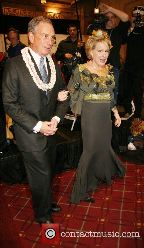 Mayor Michael Bloomberg and Bette Midler 9