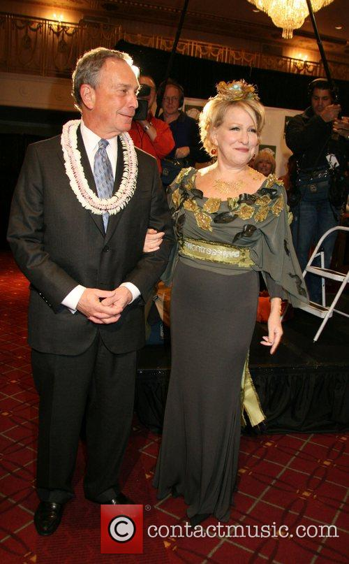 Mayor Michael Bloomberg and Bette Midler 7