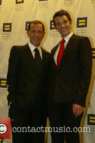Joe Solomonese and Michael Urie The Human Rights...