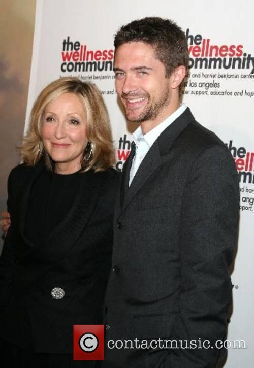 Laura Ziskin and Topher Grace The ninth annual...