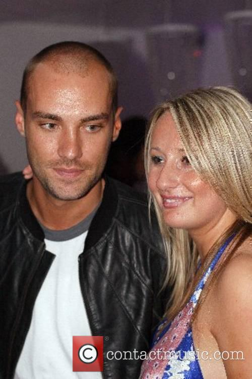 Calum Best and guest at Hush nightclub Bournemouth,...