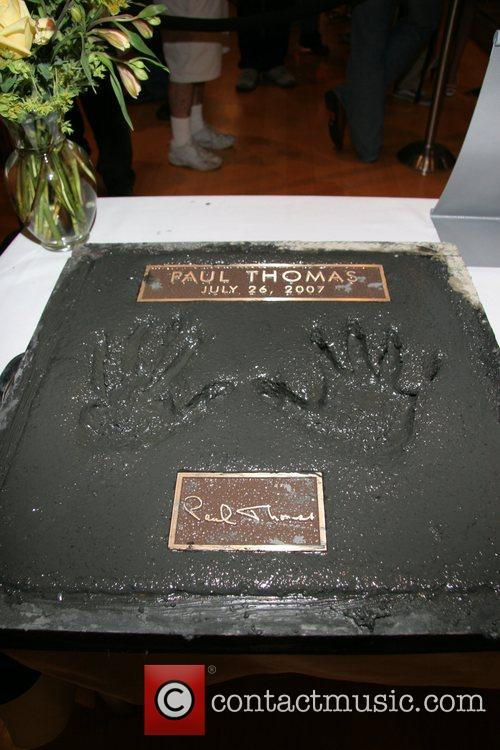 Paul Thomas's Handprints In Cement 3