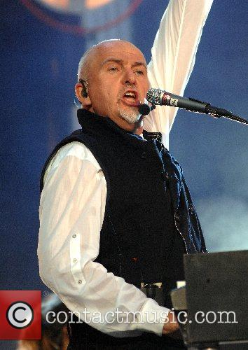 Performing at the festival 'Hyde Park Calling' -...