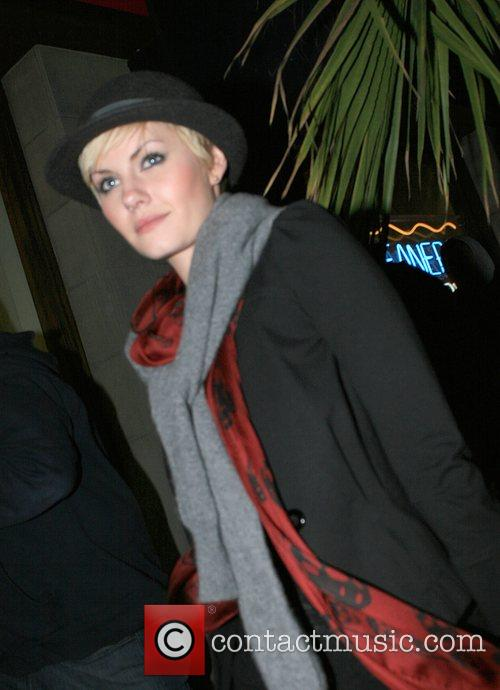 Elisha Cuthbert  Leaving Hyde Lounge nightclub. Hollywood,...
