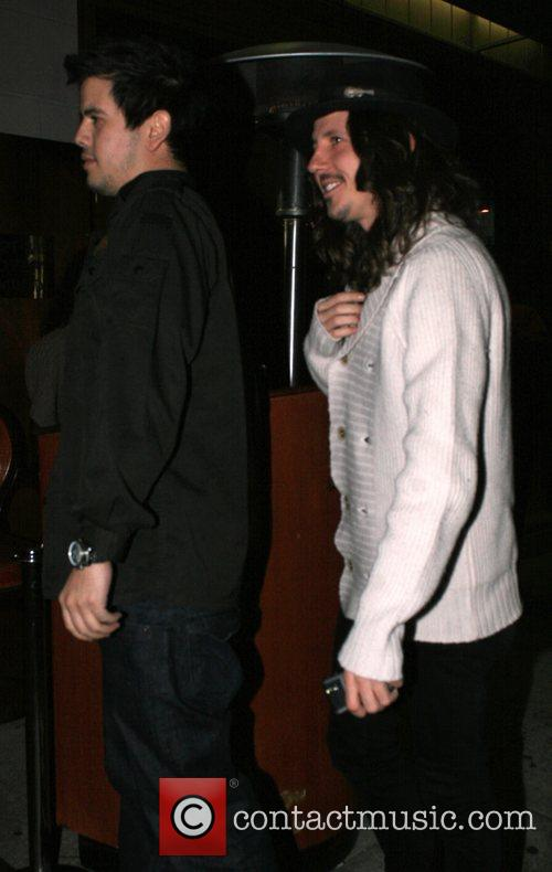 Cisco Adler arriving at Hyde Lounge  Los...