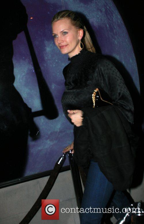 Natasha Henstridge leaving Hyde Lounge  Los Angeles,...
