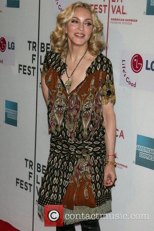 Madonna 2008 Tribeca Film Festival - Premiere of...