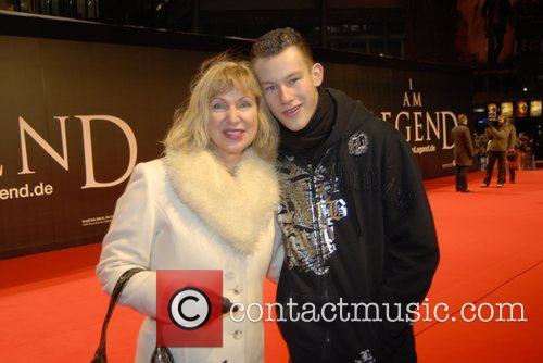 German premiere I Am Legend at Cinestar SonyCenter...