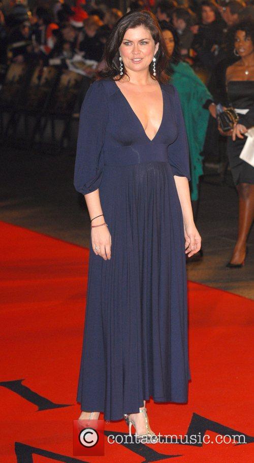 Amanda Lamb UK premiere of 'I Am Legend'...