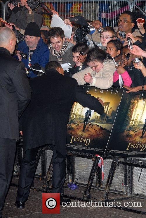 Will Smith, Odeon Leicester Square