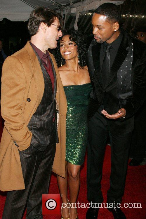 Tom Cruise, Jada Pinkett Smith, Will Smith, Madison Square Garden