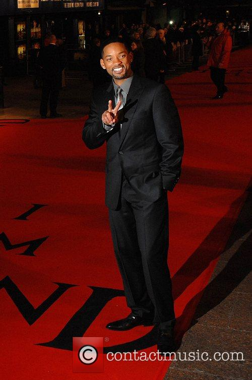 UK premiere of 'I Am Legend' held at...