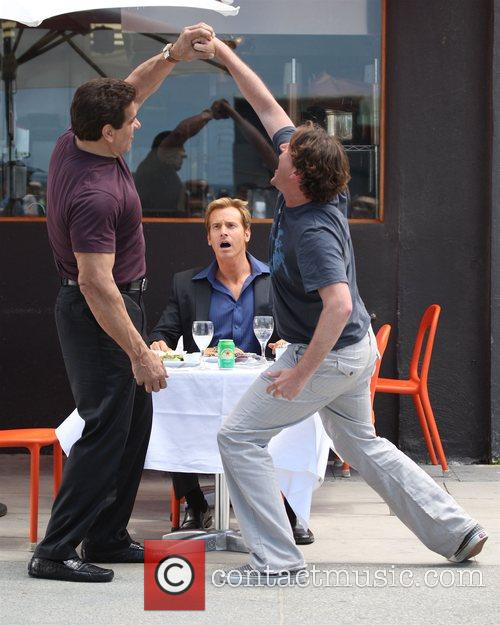 Lou Ferrigno, Rob Huebel and Jason Segel 7