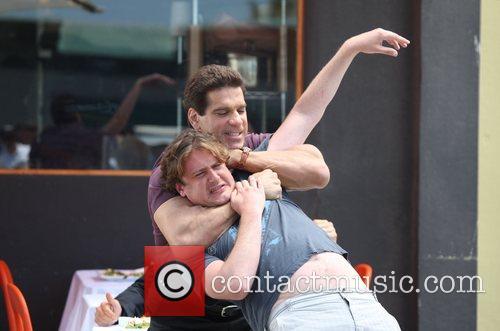 Lou Ferrigno and Jason Segel 9