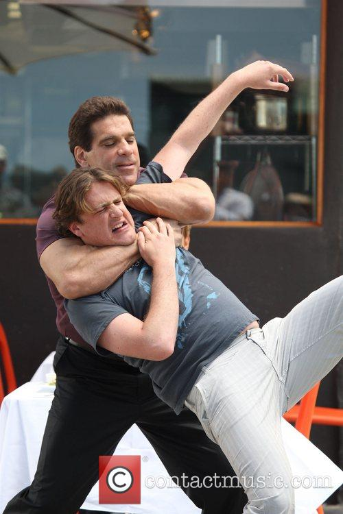 Lou Ferrigno and Jason Segel 3