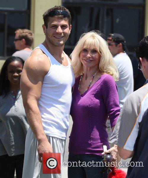 Lou Ferrigno jr. and Carla Ferrigno on the...