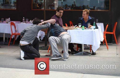 Paul Rudd, Jason Segel, Lou Ferrigno and Rob...