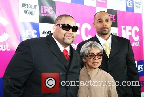 Ruby Dee and her grandsons IFC Party celebrating...