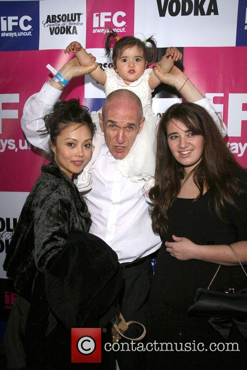Tony Kaye with his daughter Shanghai and guest...