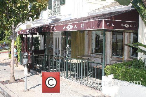 Il Sole restaurant on Sunset Blvd in West...