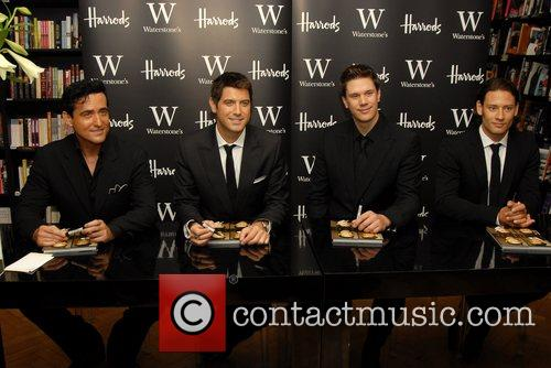 From Il Divo sign copies of their new...